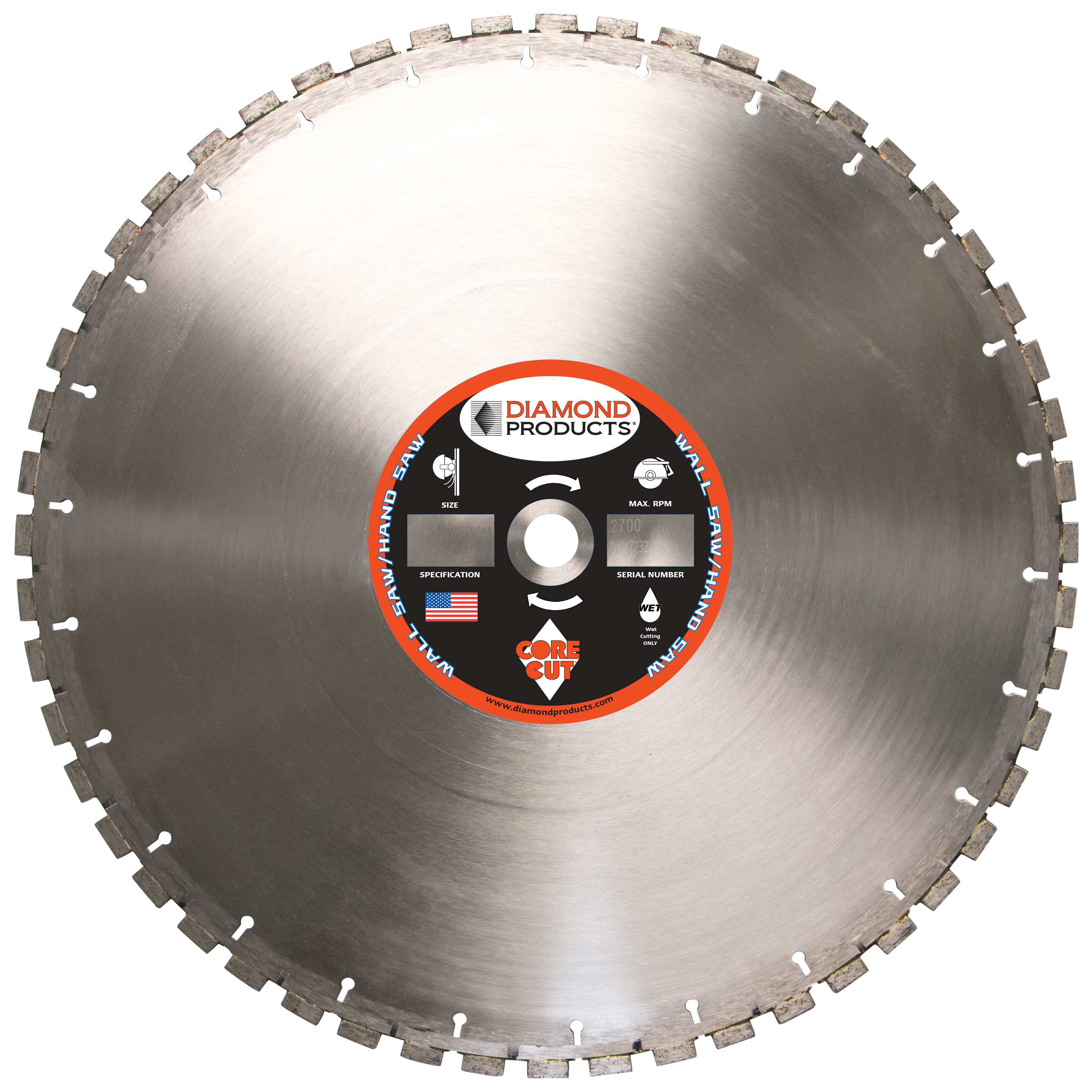 Hydraulic Hand Saw & Wall Saw Blades