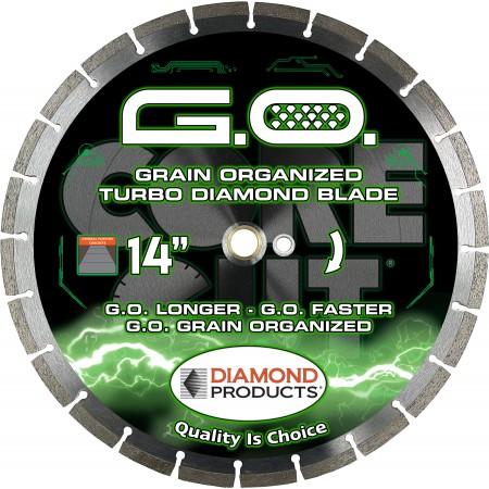 G.O. Grain Organized High Speed Turbo Blade