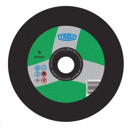 Tyrolit BASIC Stationary Cut-Off Wheels for Masonry/Concrete-Type 1
