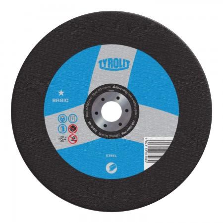 Tyrolit BASIC Chop Saw Wheels for Steel-Type 1
