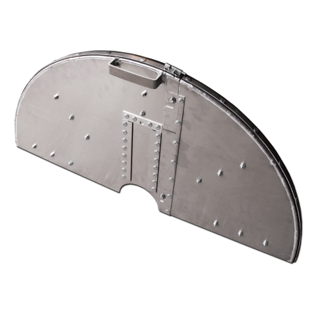 TWO-PIECE FLUSH CUT BLADE GUARDS WITHOUT WATER TUBES
