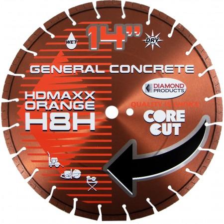 Heavy Duty Orange MAXX High Speed Diamond Blades