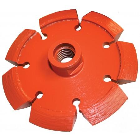 Heavy Duty Orange V-Crack Tuck Point Diamond Blades