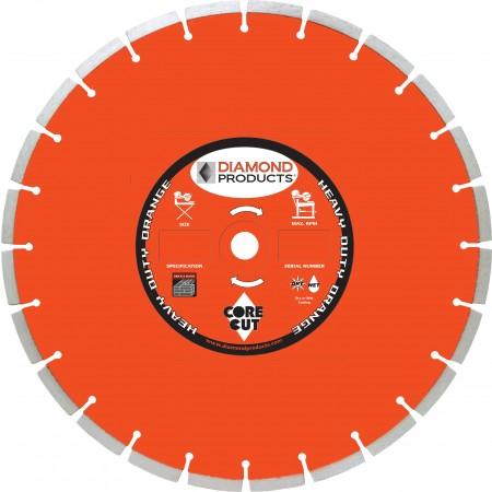 Heavy Duty Orange Segmented Masonry Diamond Blade