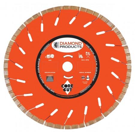 Heavy Duty Orange High Speed Turbo Blades