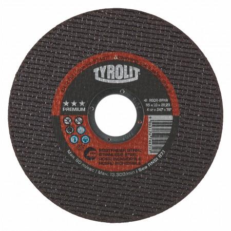 Tyrolit PREMIUM ULTRA-THIN Disc for INOX, Steel & Stainless Steel-NEXT GENERATION-Type 1