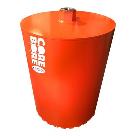 Heavy Duty Orange Large Diameter Wet Core Bits - SOLID BACK
