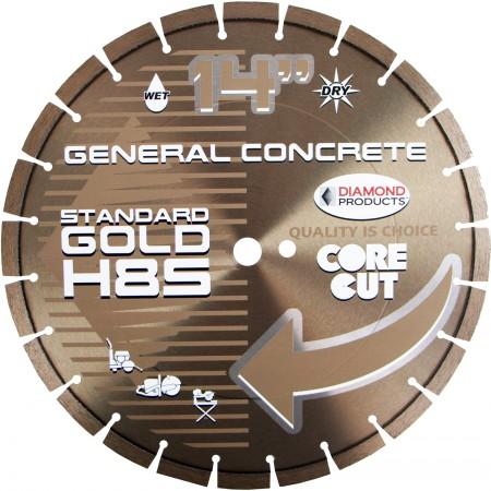 Standard Gold High Speed Diamond Blades (H8S)