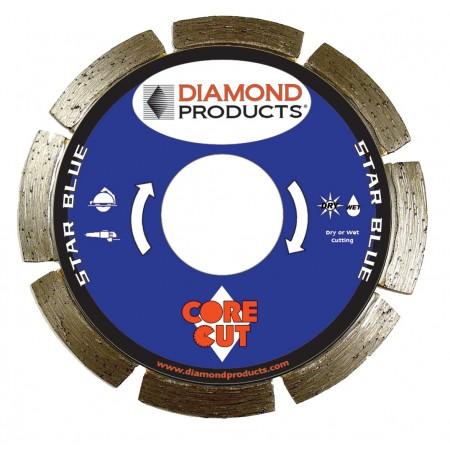 Star Blue Segmented Small Diameter Diamond Blades