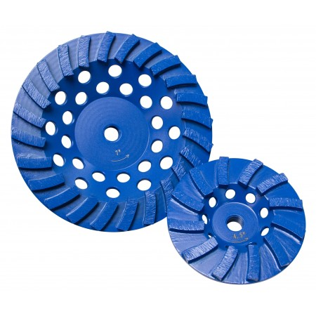 Star Blue Spiral Turbo Cup Grinders