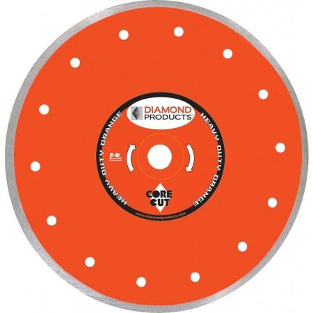 Heavy Duty Orange Continuous Rim Tile Diamond Blades
