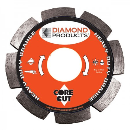 Heavy Duty Orange Segmented Tuck Point Diamond Blades