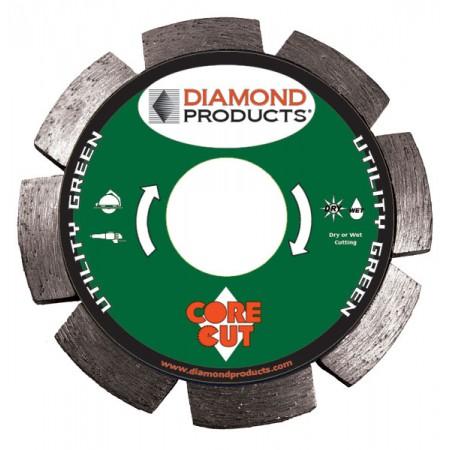 Utility Green Segmented Tuck Point Diamond Blades