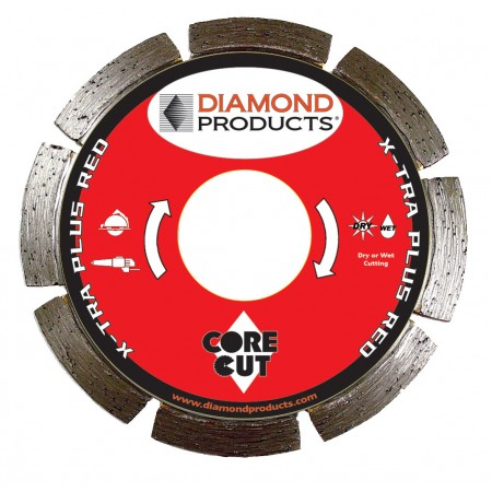 X-tra Plus Red Segmented Small Diameter Diamond Blade
