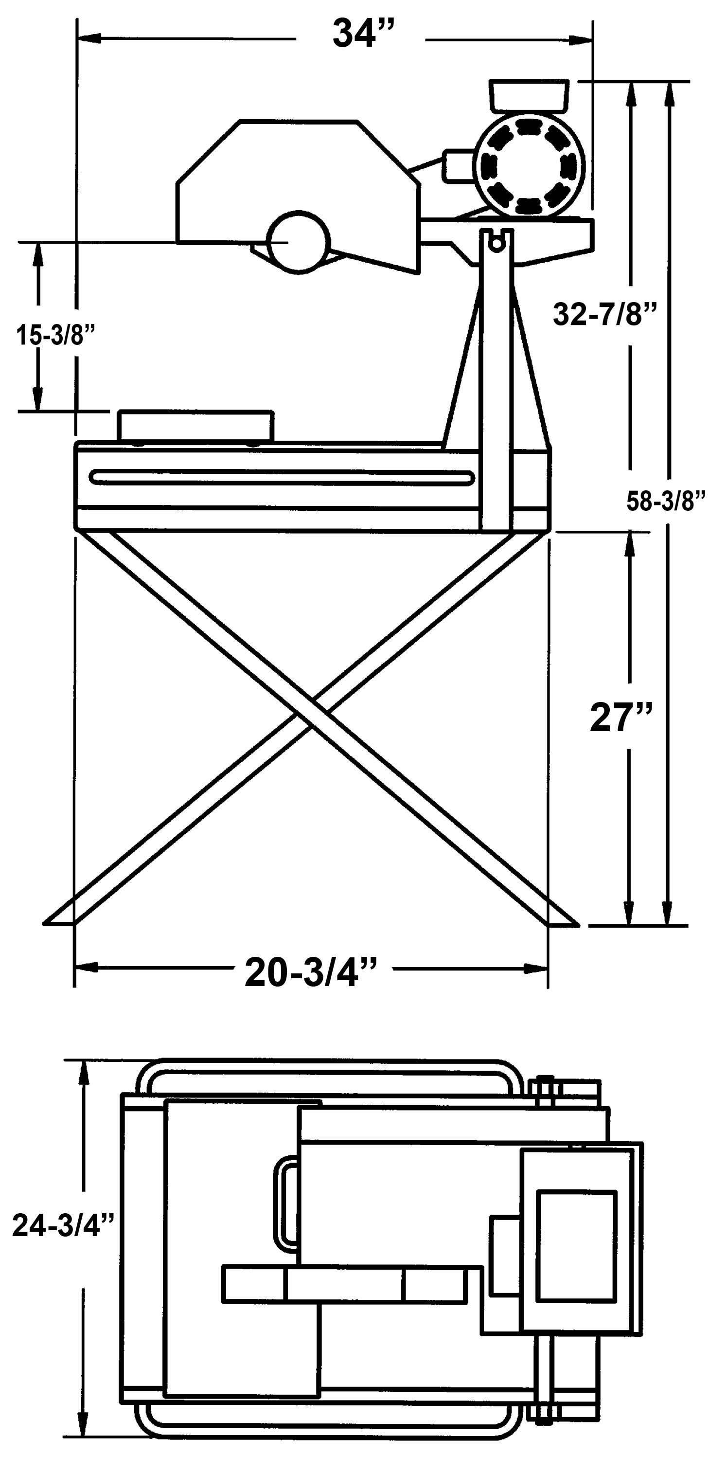 CC500MXL2 Dimensions