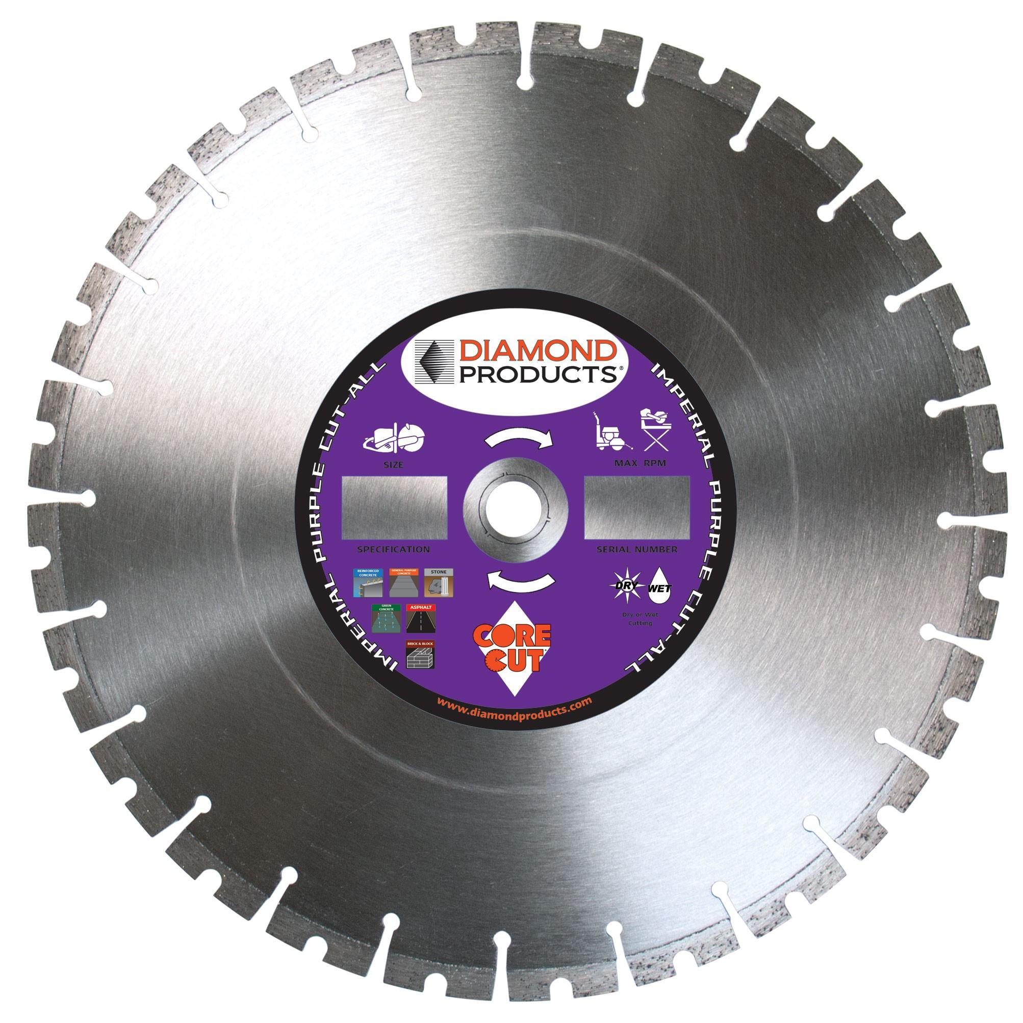 Cut All Multi Purpose High Speed Specialty Diamond Blades