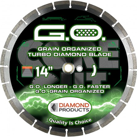 G.O. Grain Organized High Speed Turbo Blade