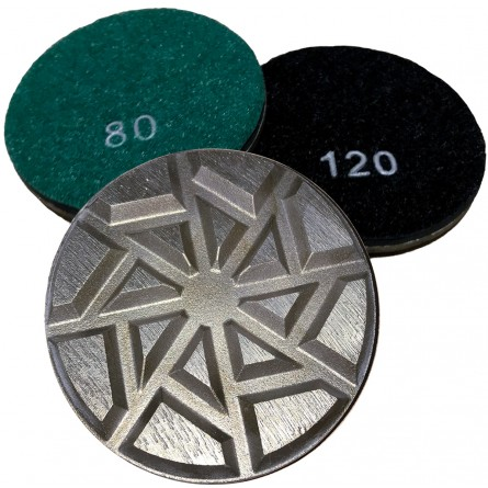 "3"" Metal Transition Grinding Pucks"