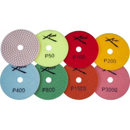 "4"" Wet Premium Polishing Pads"