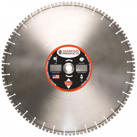 Pro Blue Hydraulic Wall Saw Blades