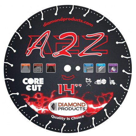 A2Z Vacuum Bonded High Speed Specialty Blades