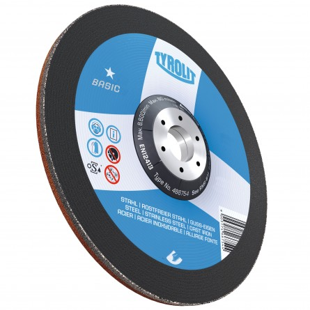 Tyrolit BASIC Wheels for General Purpose Use-Steel-Type 27