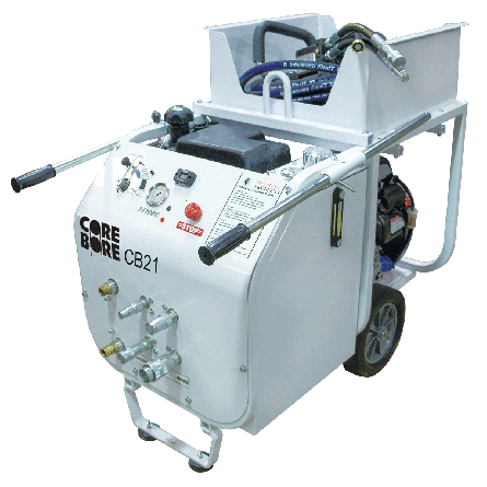 CB21HXL Gas Powered Hydraulic Pump Unit