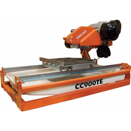 CC900TE 1-1/2hp Tile Saw Package: Includes (1) Tile Blade