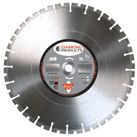 Cut-ALL Multi-Purpose High Speed Specialty Diamond Blades