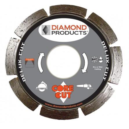 Delux-cut Segmented Small Diameter Diamond Blade