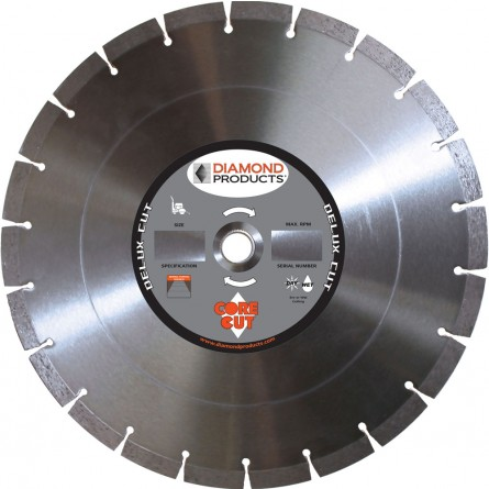 Delux-cut Segmented Dry Walk Behind Diamond Blades