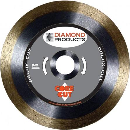 Delux-cut Continuous Rim Tile Diamond Blades