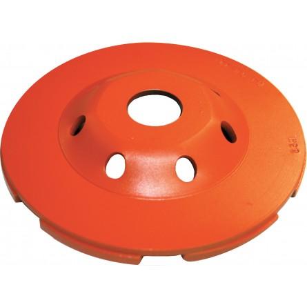 Heavy Duty Orange Low Profile Cup Grinders