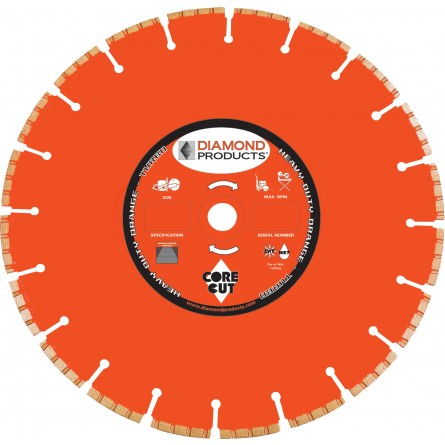 Heavy Duty Orange H.P. Turbo Blades