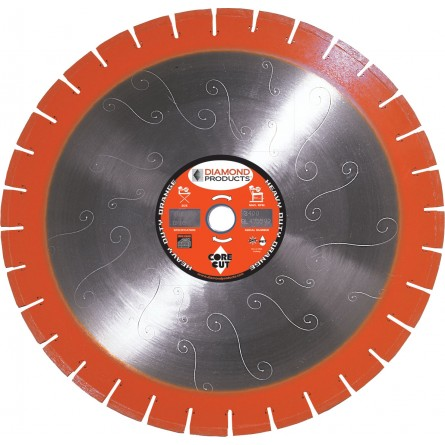 Heavy Duty Orange Segmented Silent Core Masonry Diamond Blades