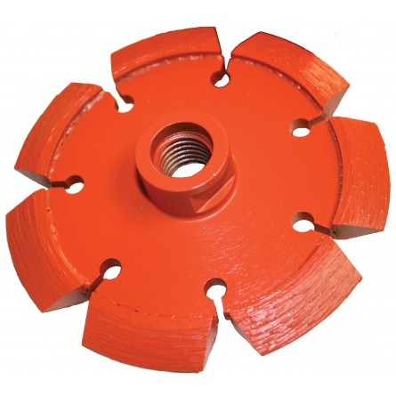 Heavy Duty Orange V-Crack Tuck Point Diamond Blades
