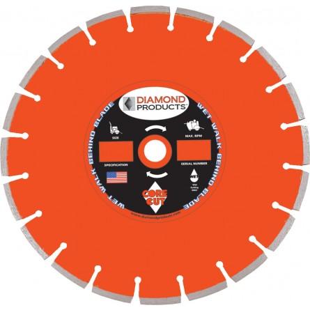Heavy Duty Orange Cured Concrete Diamond Blades