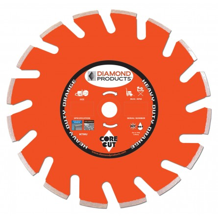 Heavy Duty Orange Ultimate High Speed Diamond Blades