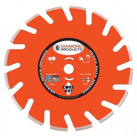 Heavy Duty Orange Ultimate High Speed Diamond Blades