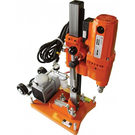 All-purpose vacuum base add-on option with vacuum pump allows you to use the M1AA anchor rig as a vacuum rig