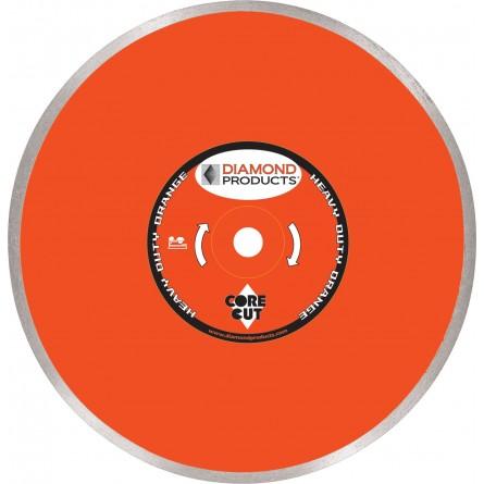 Heavy Duty Orange Continuous Rim Wet Tile Diamond Blades