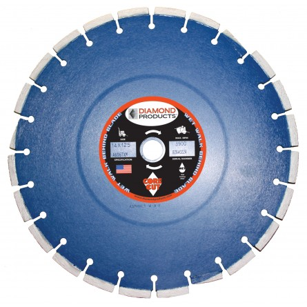 Pro Blue Cured Concrete Diamond Blades