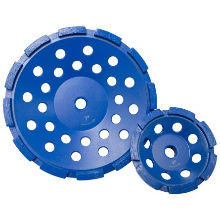 Star Blue Segmented Cup Grinders