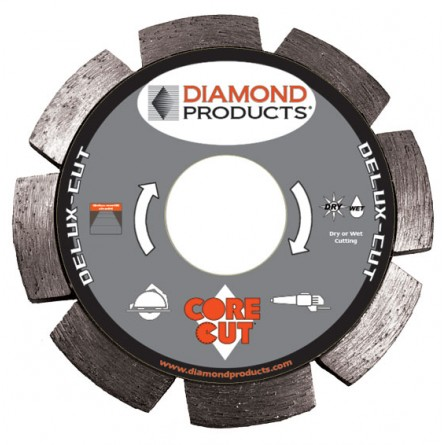 Delux-cut Segmented Tuck Point Diamond Blades