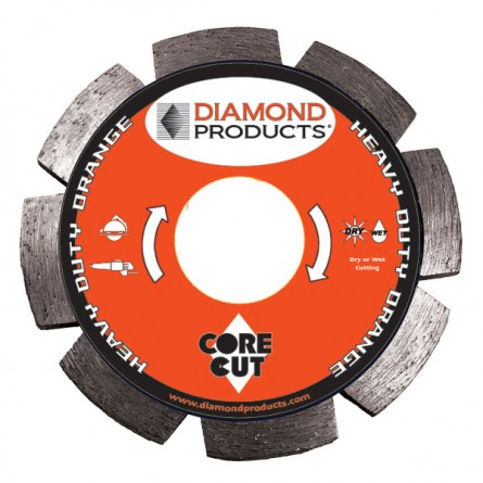Heavy Duty Orange Segmented Tuck Point Diamond Blades