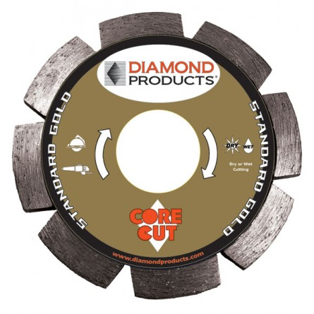 Standard Gold Segmented Tuck Point Diamond Blades