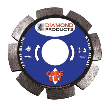 Star Blue Segmented Tuck Point Diamond Blades