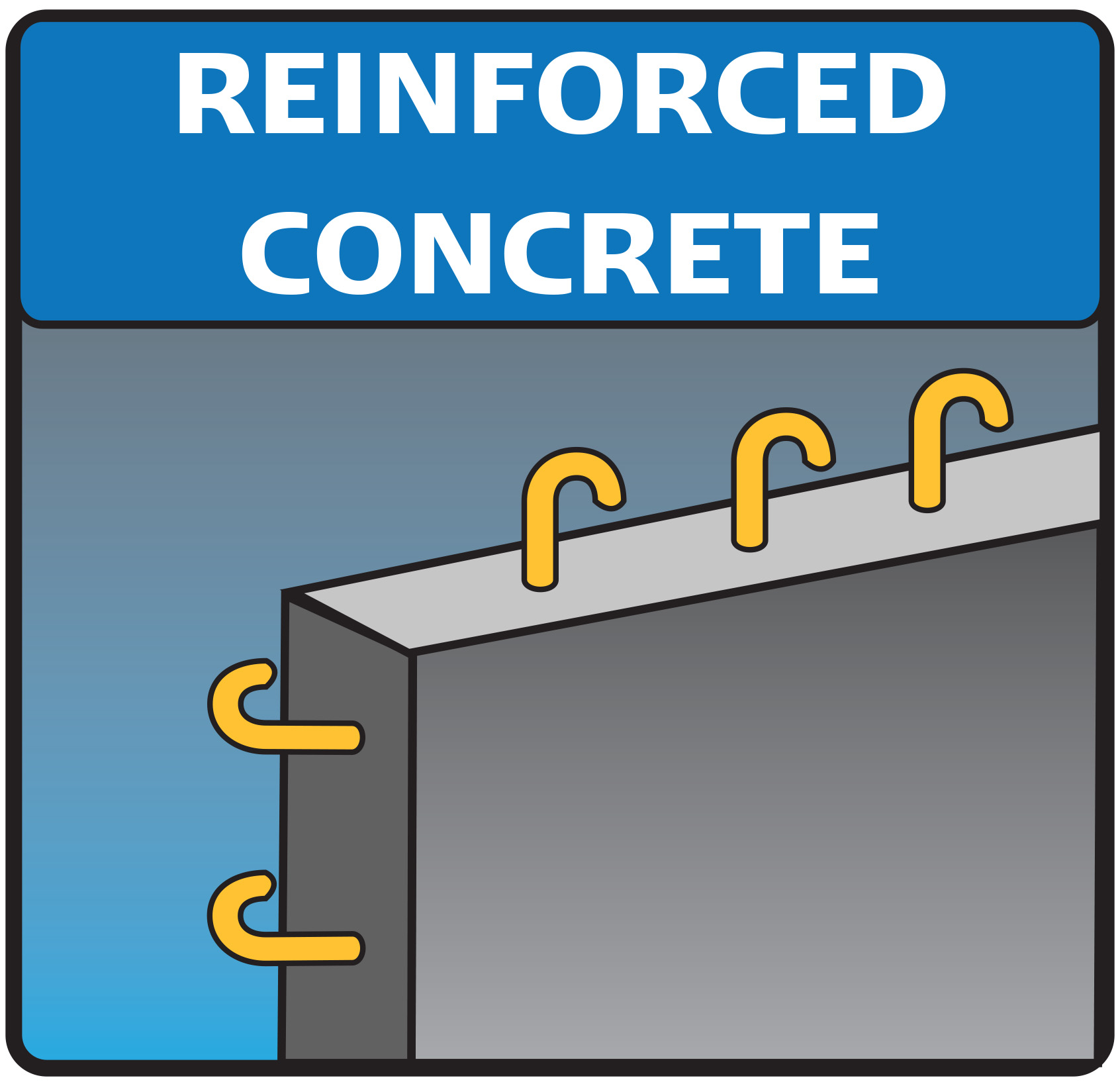 Reinforced Concrete Icon